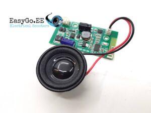 EasyGo Bluetooth kõlar tasakaaluliikurile